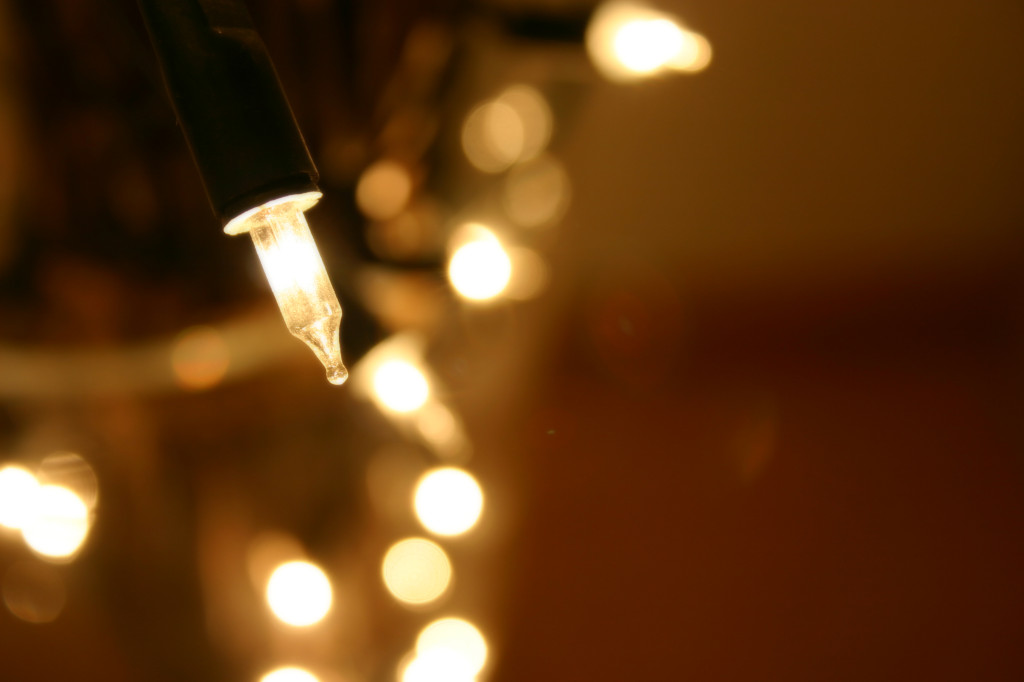 Hanging Christmas Lights On Gutter Guards Gutters