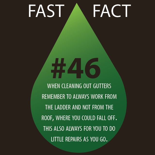 Fast fact 46 diy gutter cleaning tips gutters guardsgutters guards inc - Five tips for quick cleaning ...