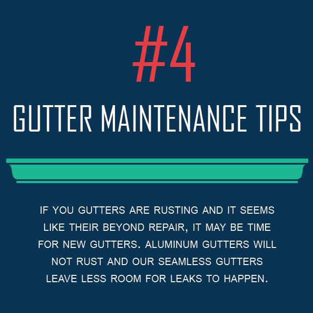 Gutter Maintenance Tips #4 - Rusted Gutters